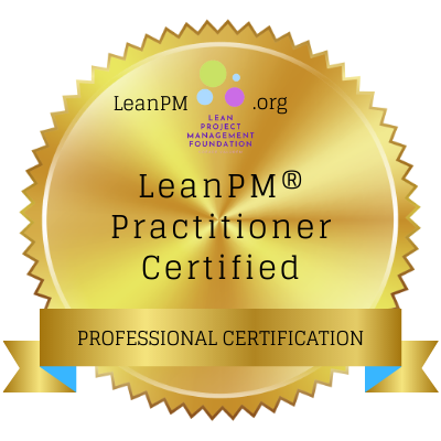 LeanPM-Practitioner Digital Badge
